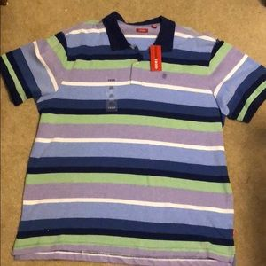 Men's Polo IZOD Shirt Multi-color Size XL